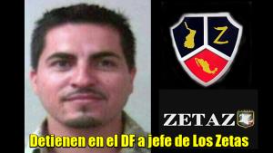 Líder de Los Zetas en Sonora detenido en el D.F.