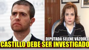 Alfredo Castillo debe ser investigado: Diputada Selene Vázquez