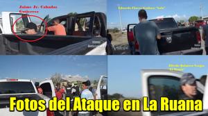 Fotos del Ataque en La Ruana, Michoacán