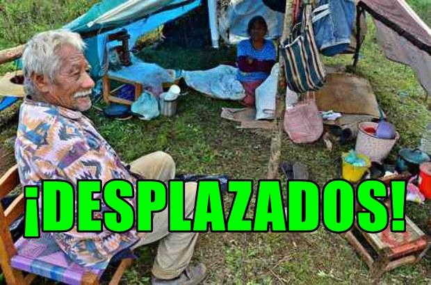 Desplazados por el hambre y la violencia en Guerrero. En Tierra Caliente hay pueblos fantasma.