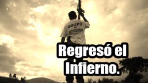 Regresó el Infierno a Michoacán. #FueraCastilloDeMichoacán. #YaMeCansé17.