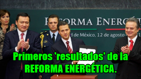 ¡Toma tus primeros resultados de la Reforma Energética! Aumento a gas, electricidad y gasolina.