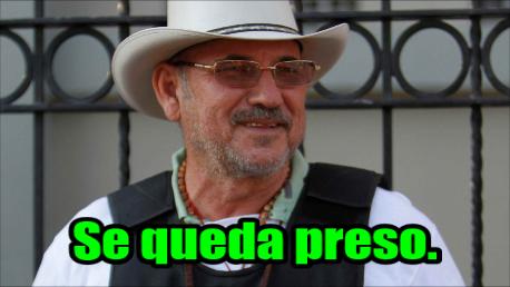 Hipólito Mora se queda preso. Primeras palabras cuando le dictaron el auto de formal prisión.