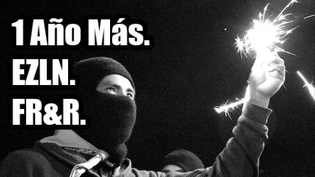 La Alegre Rebeldía en Oventic. EZLN durante el FR&R.