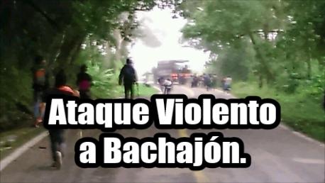 Policía ataca a Bachajón. Usaron armas de fuego. ¡ALERTA!