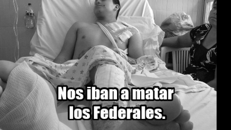 Vi como a uno que estaba de rodillas, le dispararon en la cara: Testigo en Apatzingán.
