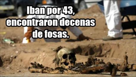 Iban por 43 y siguen destapando fosas en Guerrero, 89 hasta ahora.