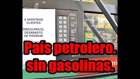 México, un país petrolero que padece desabasto de gasolina. 12 Estados los afectados.