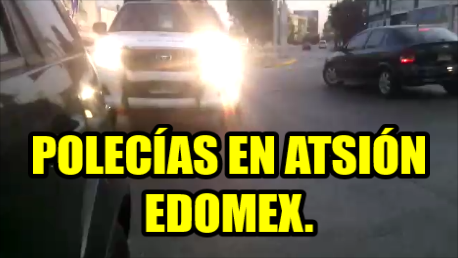 Seguridad Ciudadana del Edomex lo quiere infraccionar, se queja y lo madrean.