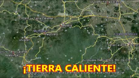 Los Viagras bloquean caminos e incendian autos en Tierra Caliente.