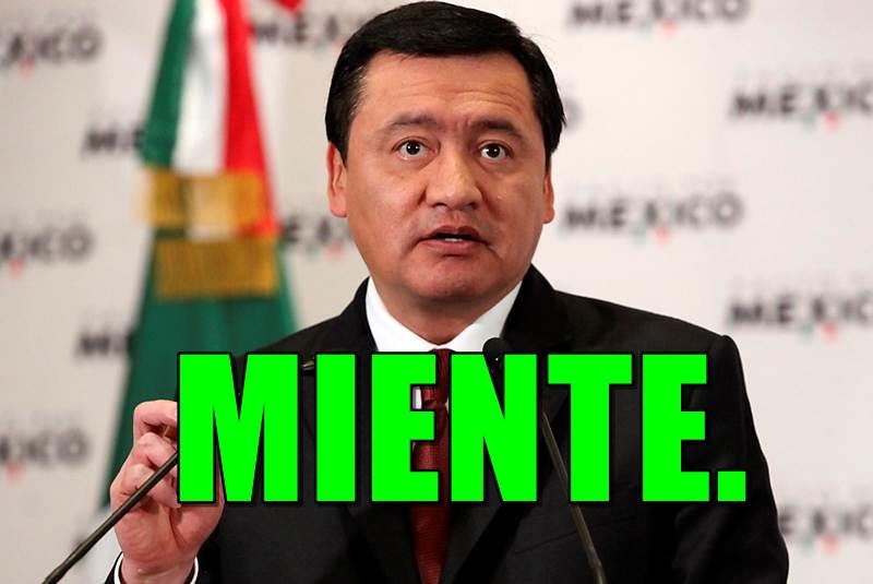Asegura Chong que los familiares de Ayotzinapa sí pueden entrar a los cuarteles.