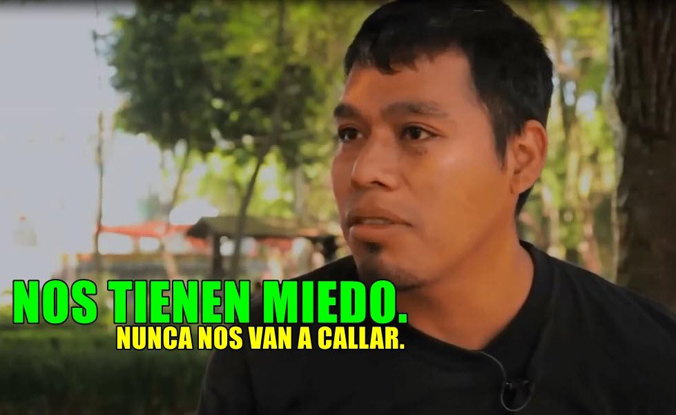 Por qué nos tienen miedo: Omar García de #Ayotzinapa.