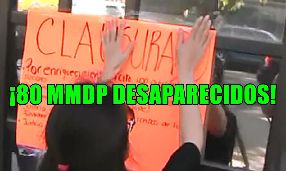 Clausuran la Representación de Chihuahua en el DF. ¡Duarte, corrupto!