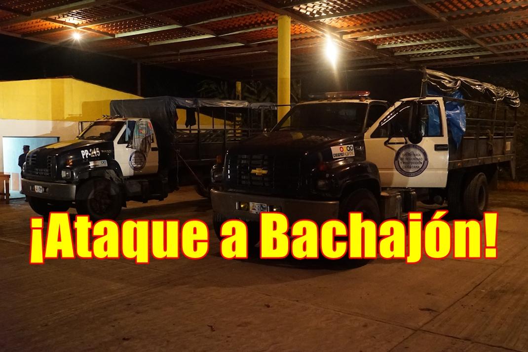 Comunicado del Congreso Nacional Indígena sobre la agresión a Bachajón.