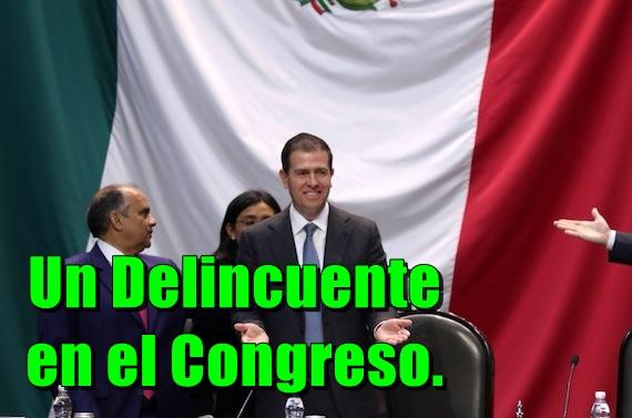 Sobre cómo el delincuente Castillo fue a mentir y repartir culpas al Congreso.