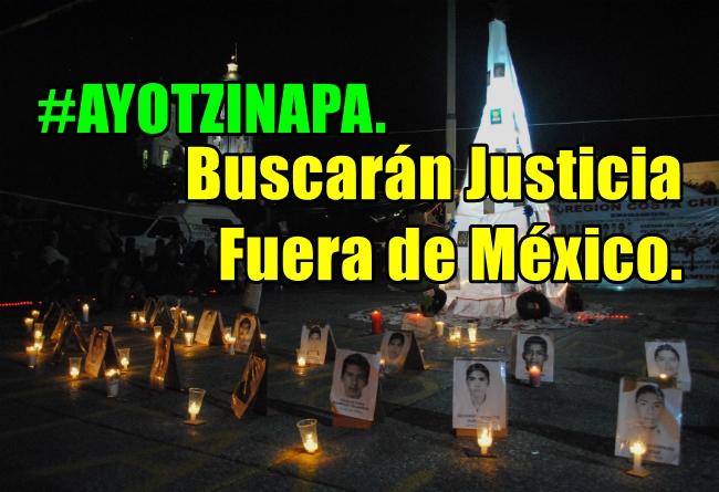 En Madrid nos sumamos a la #AcciónGlobalPorAyotzinapa.