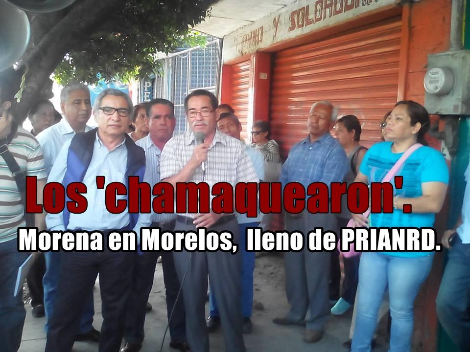 Morena, La esperanza de... PRI, PAN y PRD en Yautepec.
