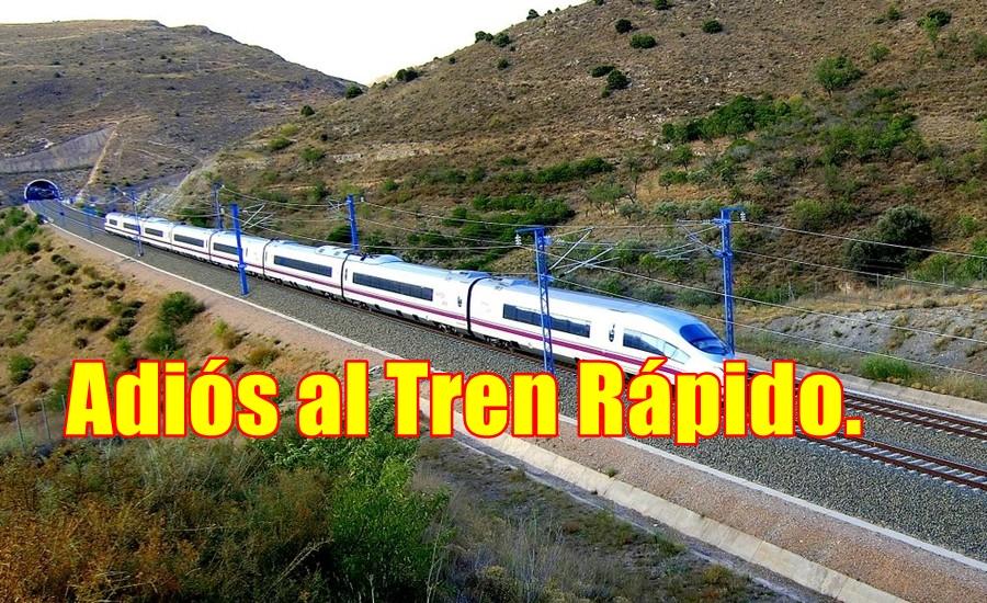 Adiós al Tren México Querétaro y al transpeninsular.