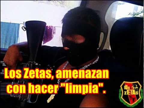 Pánico en Alvarado, Ver. por supuesto comunicado de Los Zetas.