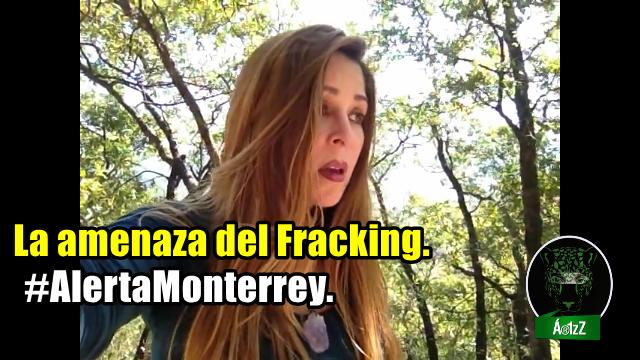 El agua del Proyecto Monterrey VI será para el fracking. Denuncia ciudadana.