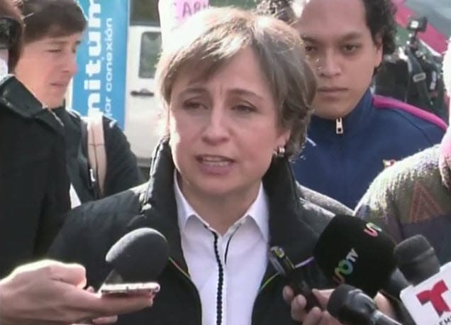 Vamos a dar la batalla: Aristegui. #EnDefensaDeAristegui2.