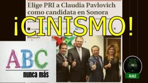 Claudia Pavlovich NO debe ser gobernadora en Sonora. #JusticiaABC.