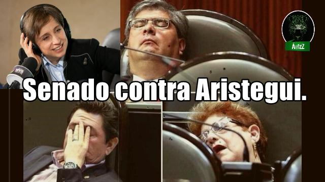 Impiden PRI, PAN y PVEM acceso de Aristegui a medios públicos.