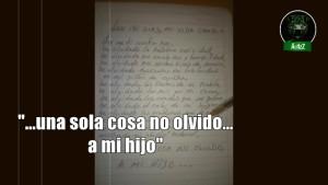 He olvidado muchas cosas; una sola cosa no olvido, a mi hijo: Papá de Ayotzinapa.