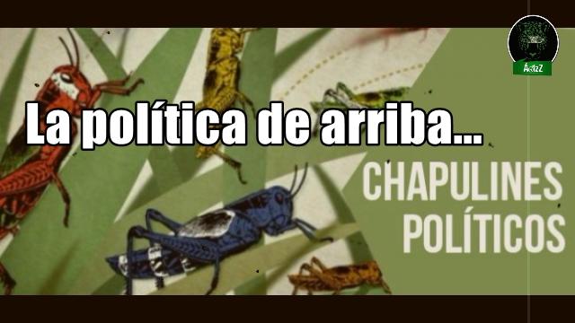 Temporada de chapulines y sabandijas. Temporada de elecciones en México.