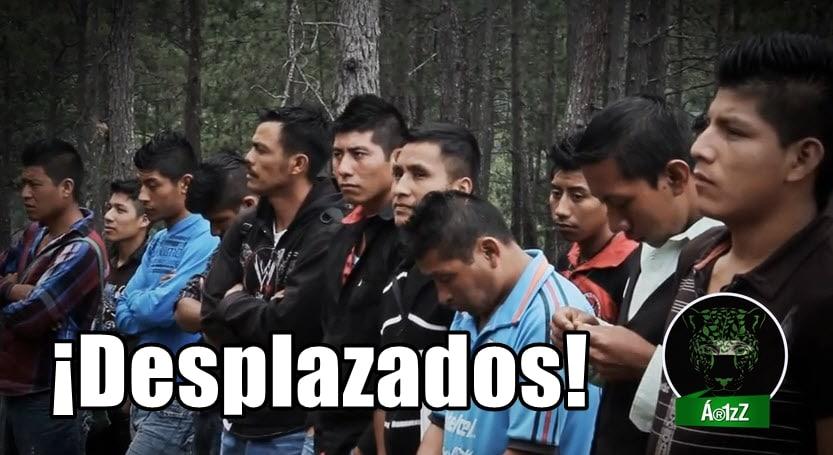 #Chiapas. Comunidad 1oAGOSTO - 57 personas desplazadas por la CIOAC-H.