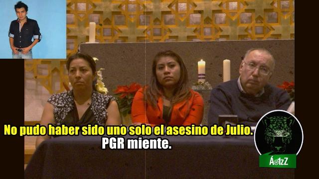 Madre de Julio César Mondragón de Ayotzinapa, no cree en la versión de la PGR.