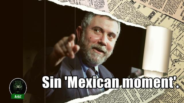 Severa crítica de un Premio Nobel a las políticas económicas del mal gobierno en México.