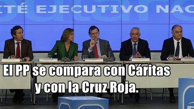 Para el PP en España, 'el fin justifica los medios' y si de donaciones en negro a su partido se trata, aún más.