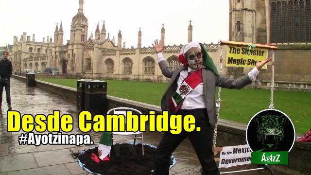 Cambridge-México Solidarity. #Ayotzinapa. 4th December, 2014.
