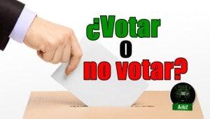 Ensayo de debate sobre votar o no votar.