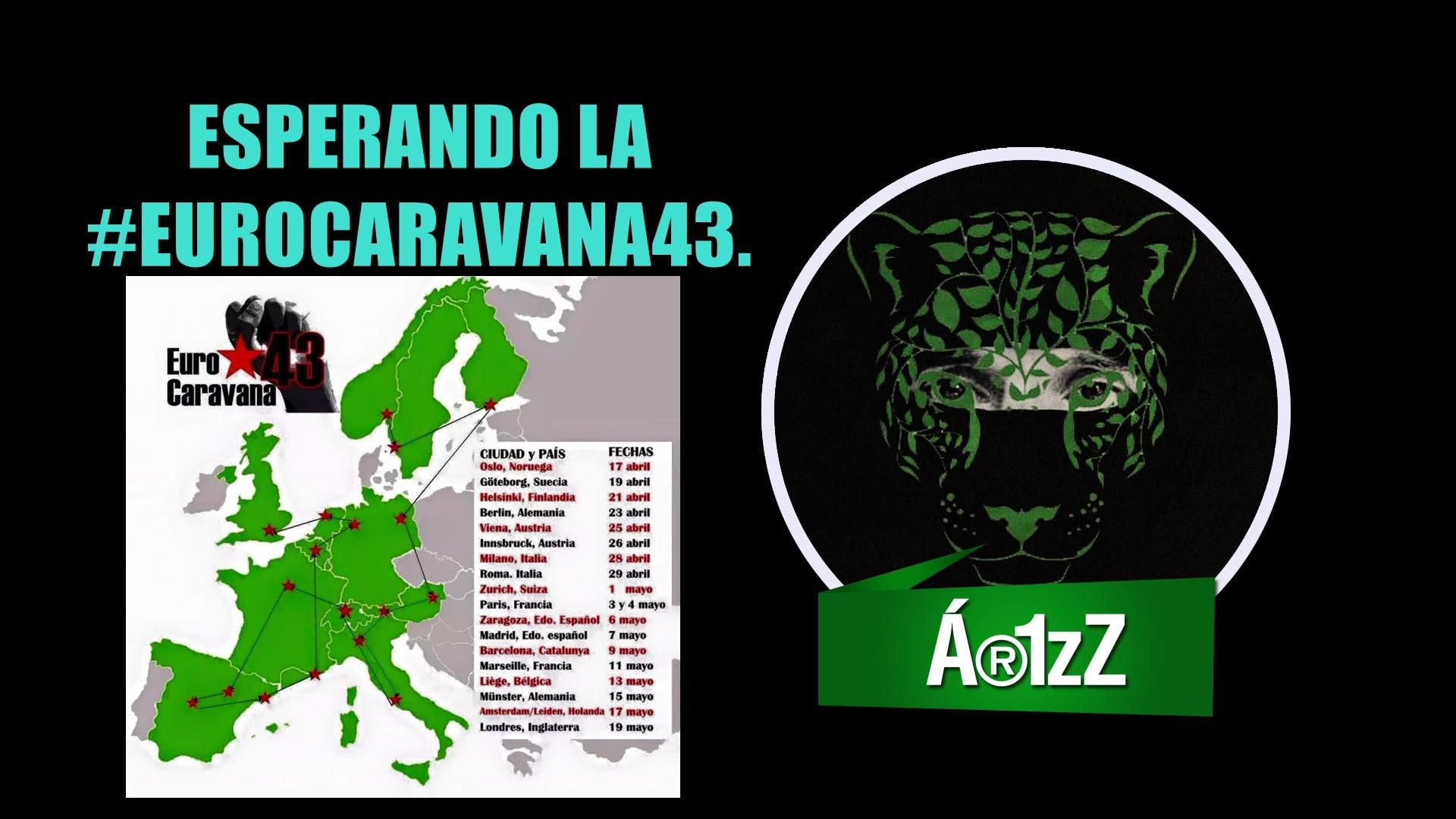 #EuroCaravana43. Ayotzinapa.