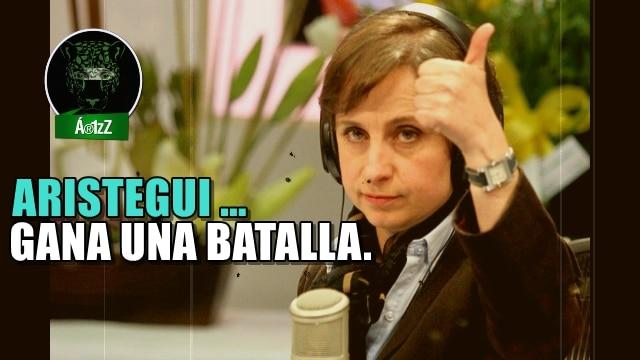 Juez ordena a MVS negociar la reinstalación de Carmen Aristegui.