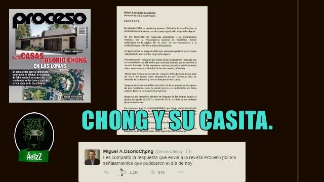 Osorio Chong también tiene su casita en Las Lomas. Él dice que son chismes.