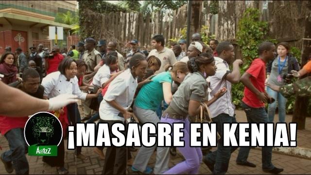 Masacre en Kenia. 147 estudiantes muertos.