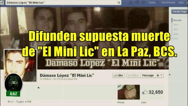 Difunden supuesta ejecución de Dámaso López Jr.