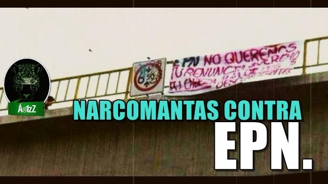 Cuelgan tres narcomantas contra Peña Nieto en Irapuato, Gto.