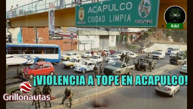 Ola de asesinatos en Acapulco: 200 desde Diciembre, 14 esta semana.