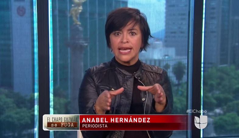Anabel Hernández dice que no es creíble la versión de la fuga del Chapo.