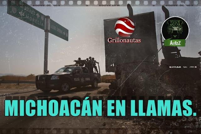 Se presume que durante los enfrentamientos en las inmediaciones del municipio de Apatzingan, Michoacan, cayo abatido Nazario Moreno González, El Chayo, principal lider del grupo criminal.
