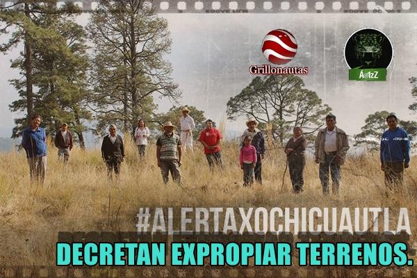 A base de decretos de expropiación quieren someter a Xochicuautla