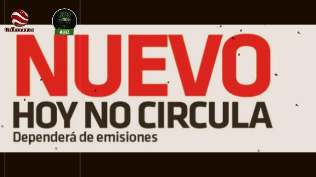 Entra en vigor el nuevo 'Hoy No Circula' en México.