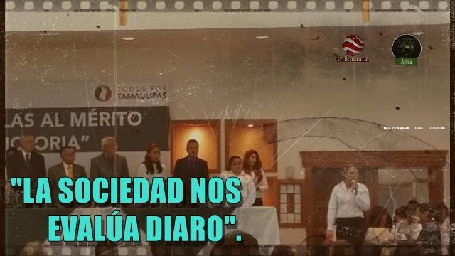 Mientras la SCJN falla en contra del magisterio, una maestra alza la voz en Tamaulipas.