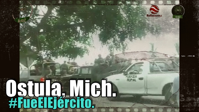 Tres videos de la incursión del Ejército mexicano a #Ostula. #FueElEjército.