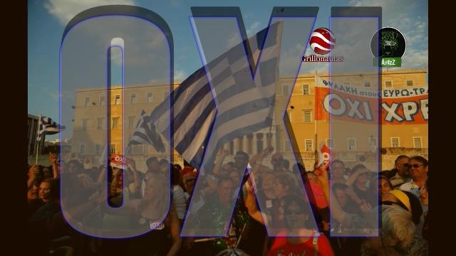 Grecia dijo NO. Zabludovsky. Ejército con permiso de matar. Un anuncio.