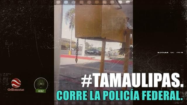 Con lujo de violencia detienen a una persona en Reynosa. No sabemos si eran policías.